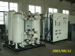 供应浮法玻璃生产线专用氨分解制氮机图片