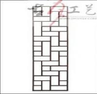 供应古月工艺东阳木雕仿古门窗J230