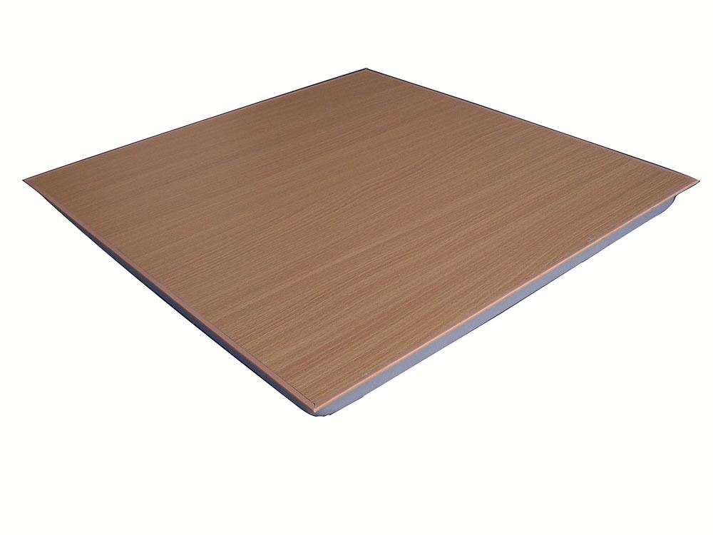 供应全钢防静电地板木纹面