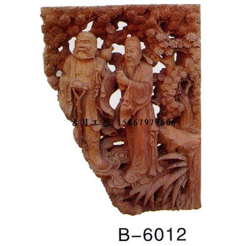 供应古月工艺东阳木雕牛腿b6012图片