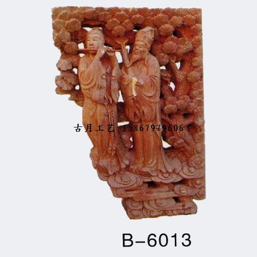 古月工艺东阳木雕牛腿B6013图片/古月工艺东阳木雕牛腿B6013样板图
