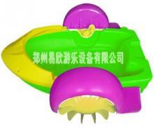 供应儿童水上手摇船摇摇船玩具 水上乐园玩具 水上船玩具