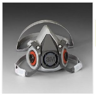 供应防护面罩防毒面具3M6200面具防护面罩防毒面具
