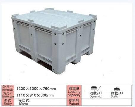供应塑料卡板箱,辽宁塑料卡板箱,丹东塑料卡板箱,沈阳塑料卡板箱图片