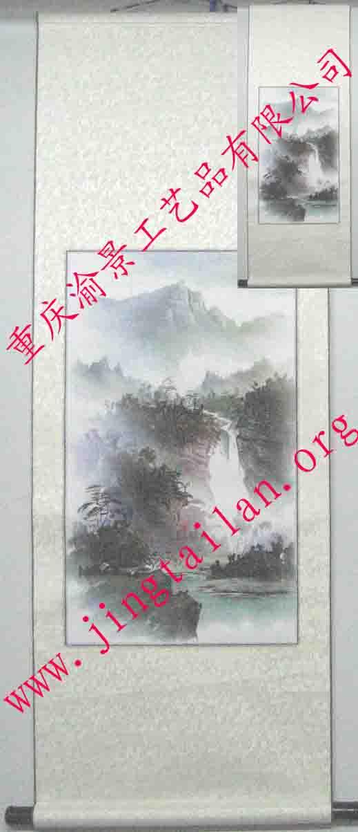 供应景泰蓝卷轴彩釉画,景泰蓝工艺品,景泰蓝工艺画,工艺品