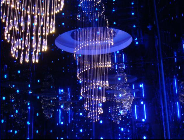 贵阳光纤灯-光纤灯照明设计中心图片