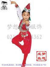 供应儿童舞蹈演出服装民族服装定做