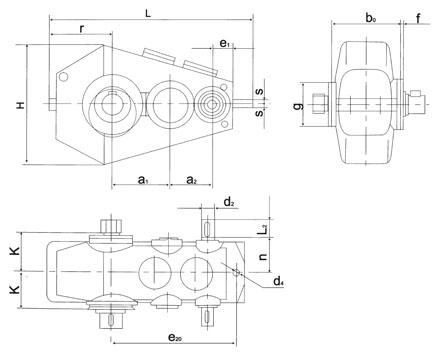 供应QJR335中硬齿面减速机齿轮减速机