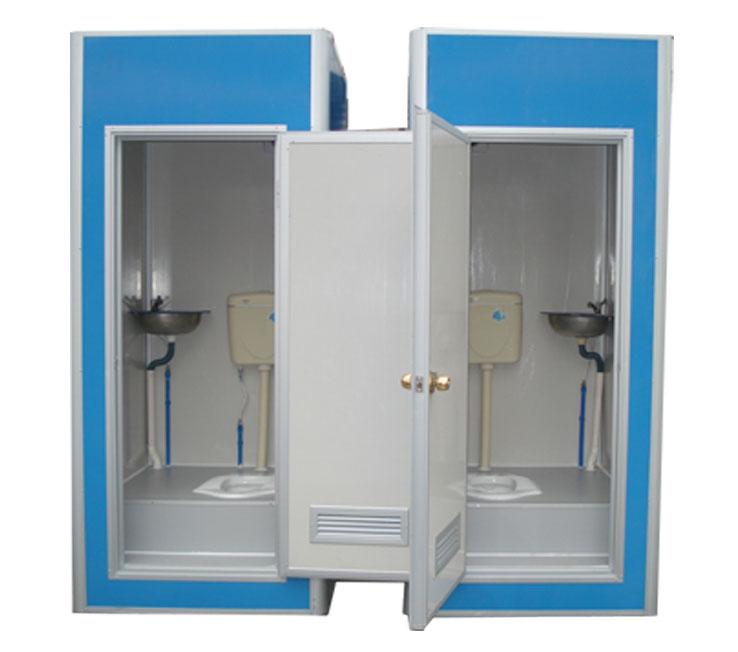 供应蓝色彩钢厕所