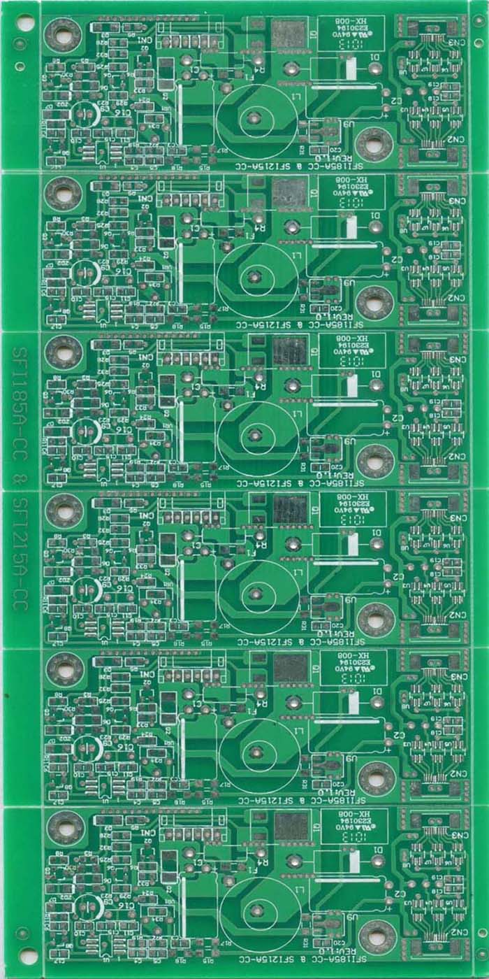 供应双面喷锡电路板,电源双面线路板,东莞双面pcb厂家