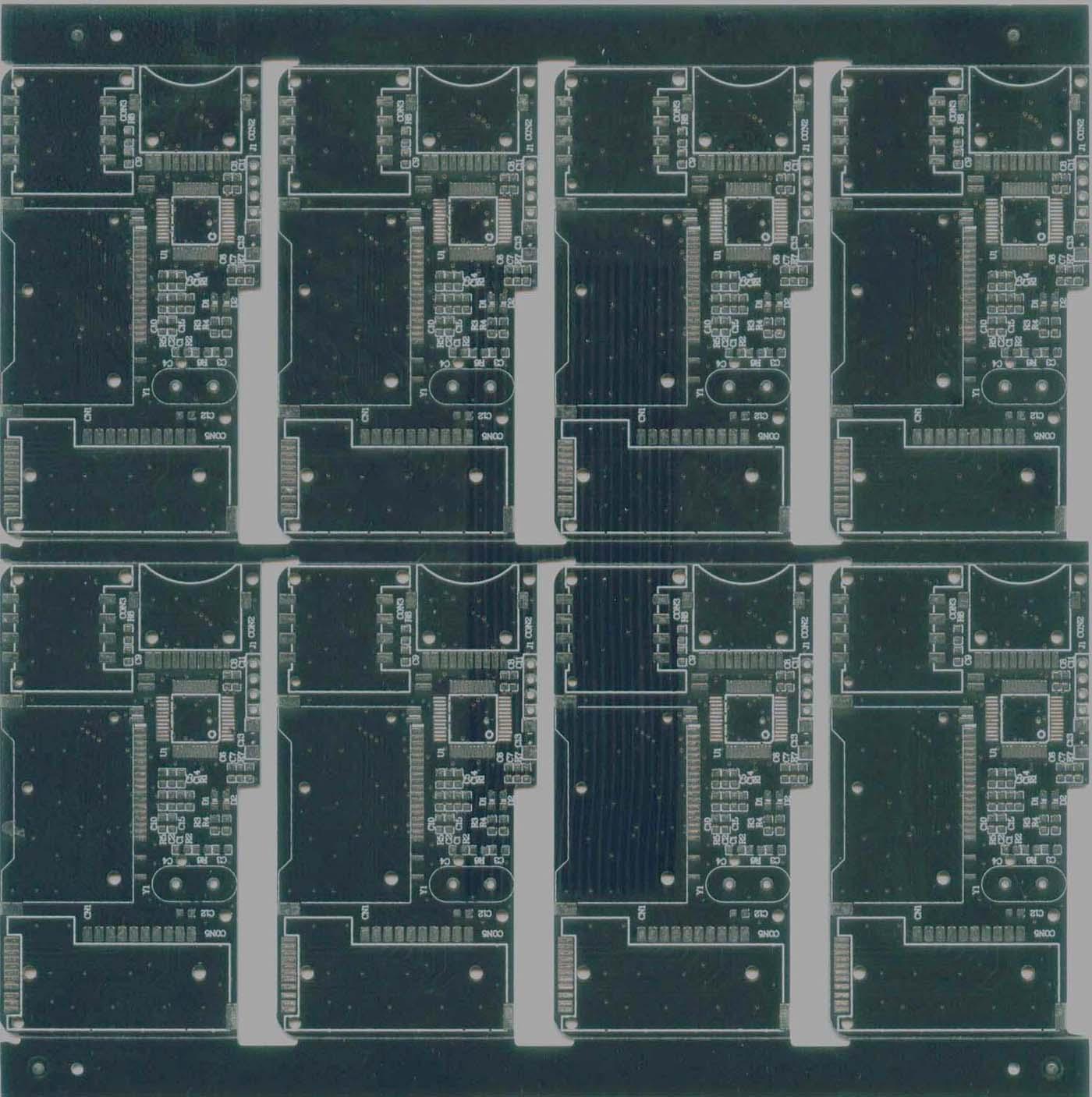 供应双面电路板,双面喷锡pcb