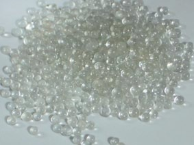 供应用于金属物的清理 金属物的抛光的供应工业用喷砂玻璃微珠320#,玻璃微珠生产厂家图片