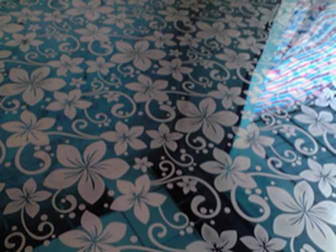 供应香港电梯彩色不锈钢装饰板宝石蓝紫荆花批发