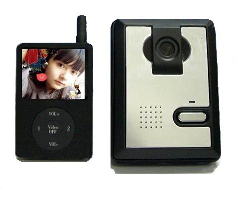 数字无线可视对讲门铃图片/数字无线可视对讲门铃样板图