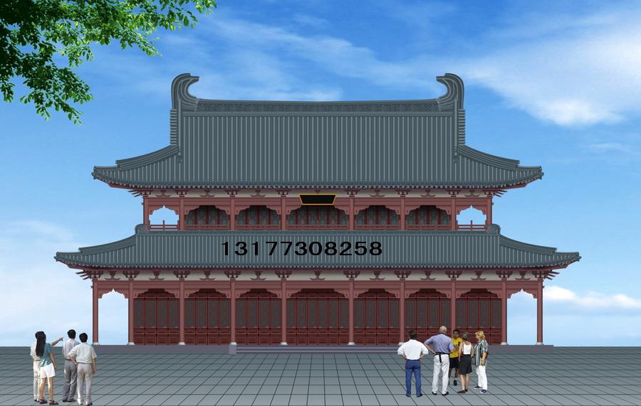 供应仿古建筑设计古建规划设计