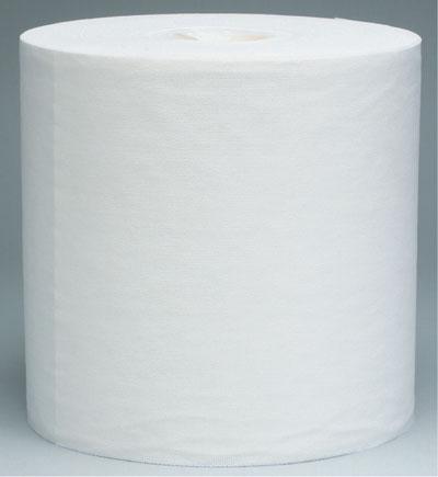 天帮力科技公司供应W60大卷白色压花洁净无纺擦拭布1100张卷