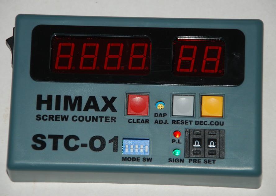 标签: 计数器图片简述:计数功能,可预设工件上所需锁固螺丝...