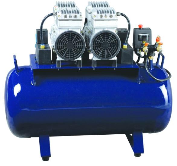供应空气无油压缩机气泵一拖四