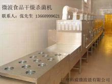 供应微波调味品干燥杀菌机