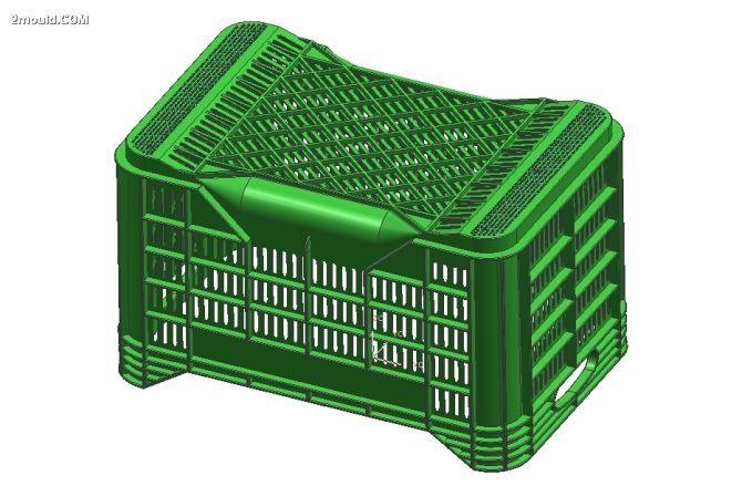 供应塑料筐模具周转盒模具水果箱模具