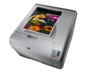 惠普1215彩色打印机加粉图片