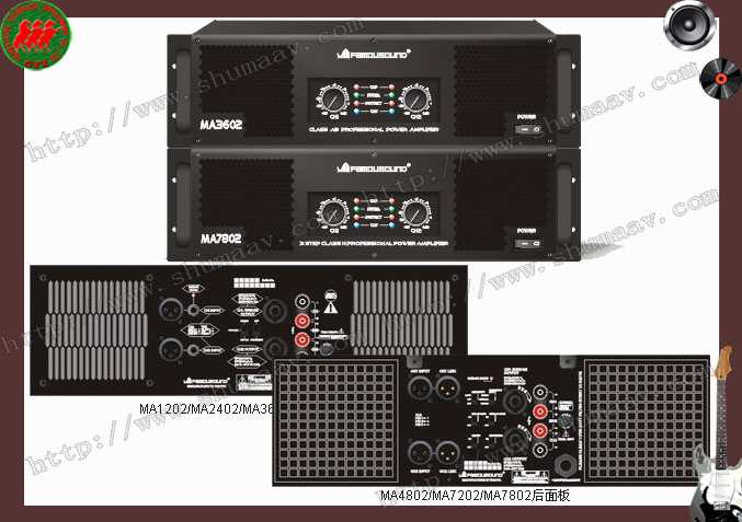 供应ma1202皇冠功放高级设备 供应功放系列  上一条:蜚声功放