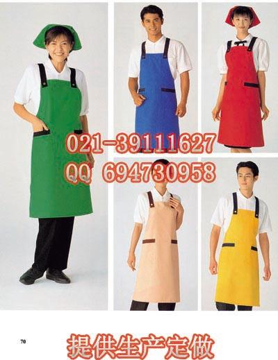 饭店围裙餐厅工作围裙厨师围裙图片