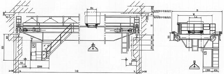 电磁桥式起重机批发