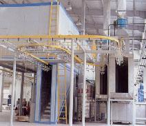 供应涂装流水线 工业烤炉 喷粉房 水帘柜