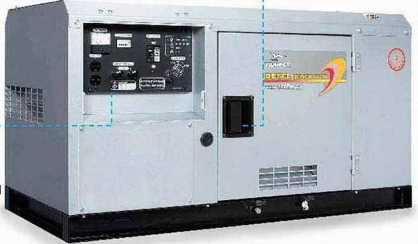 洋马柴油豪华静音型发电机图片