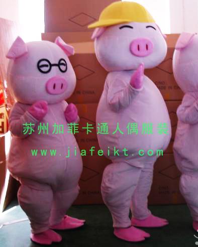 卡通人偶动漫卡通服装卡通麦兜猪猪图片
