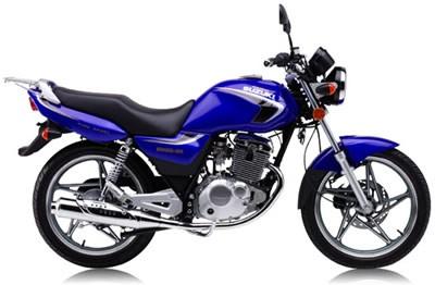 豪爵铃木en125摩托车
