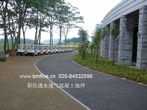 高承载露骨料透水地坪,广东彩色透水地坪,广东彩色透水地坪图片