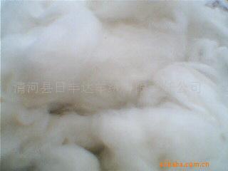 无毛绒纺织原料