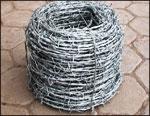 PVC刺绳刺绳防护网金属丝绳监狱用刺绳普通刺绳