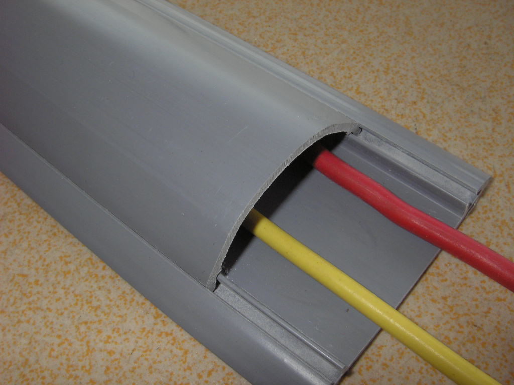明线槽安装图解