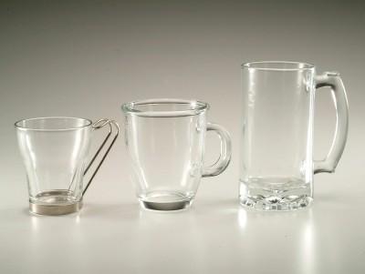 供应有柄玻璃杯
