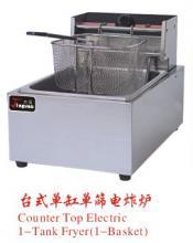 供应台式单缸单筛电炸炉