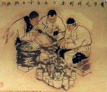 供应国画老北京系列
