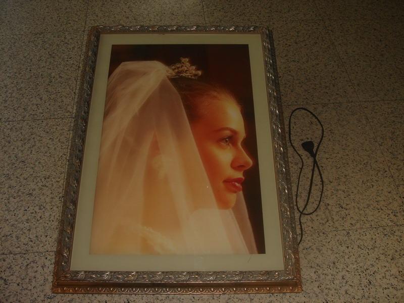 木框镜子图片
