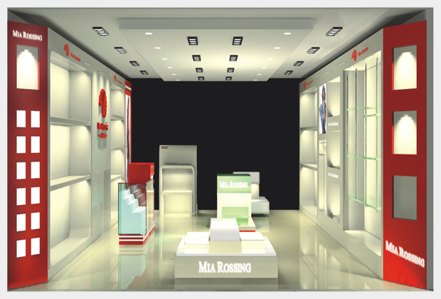 茶具展厅设计图展示
