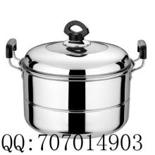 供应不锈钢单篦蒸锅