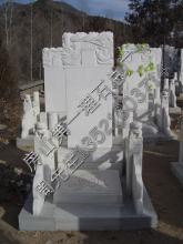 供应汉白玉墓碑 汉白玉墓碑组合墓