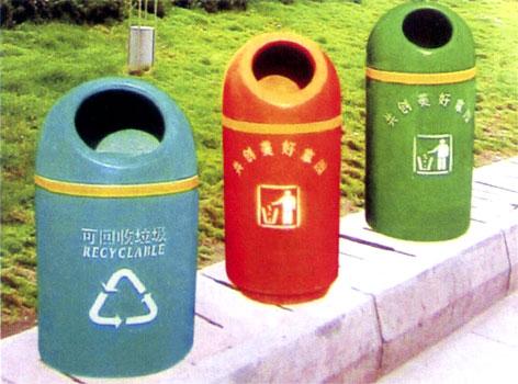 成都宏宇环卫设备厂生产供应不锈钢垃圾桶