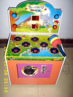 供应趣味打地鼠游戏机,打地鼠游戏机低价出售