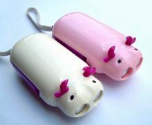 供应小牛手压电筒,环保电筒,电子礼品