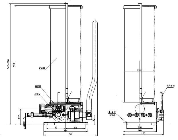 南通通灵液压优质供应手动干油泵批发