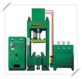 磁性材料湿式液压机图片