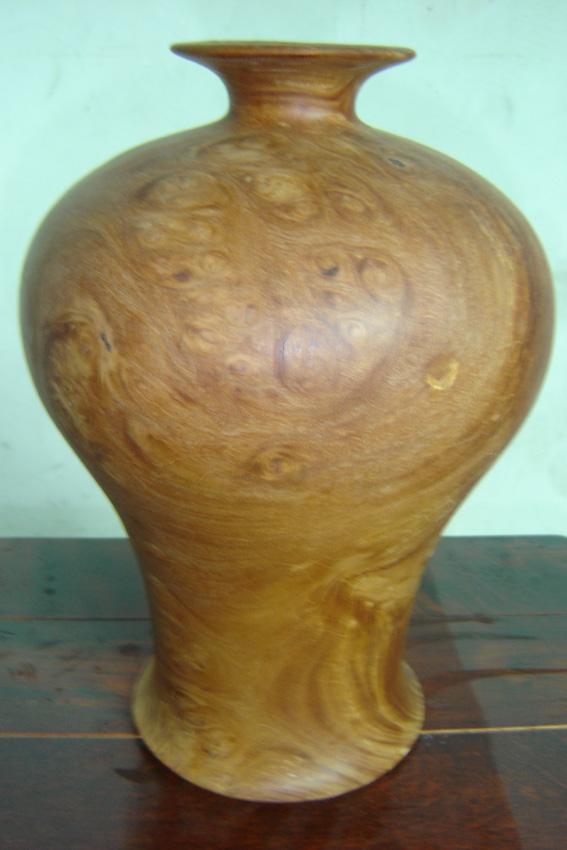木雕工艺品-花瓶图片