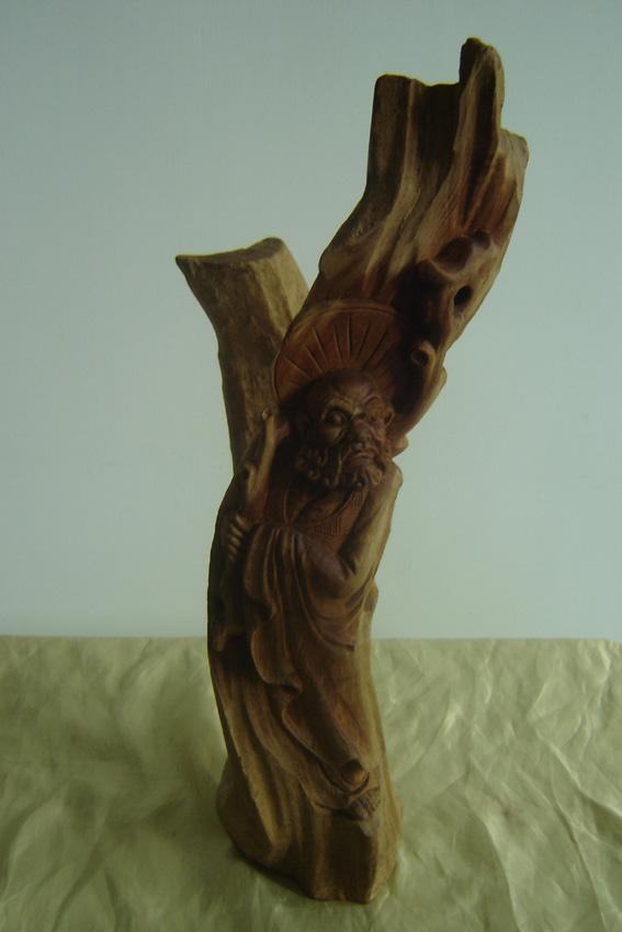 木雕-达摩图片